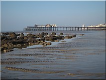 TQ8109 : Low tide on Pelham Beach by Oast House Archive