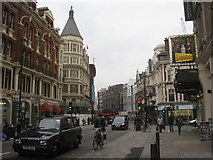 TQ2980 : Shaftesbury Avenue by Jonathan Thacker