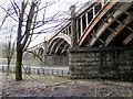 SD7209 : Croal Viaduct, St Peter's Way by David Dixon