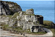 D0445 : Abandoned quarry at Larry Bane Head by Graham Hogg