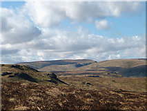 NY5308 : Rough moorland, north flank of Wasdale Pike by Karl and Ali