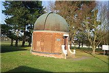 SU8651 : Aldershot Observatory by N Chadwick
