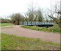 ST2990 : Malpas Brook footbridge, Bettws, Newport by Jaggery