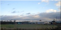 SP9122 : Farm buildings near Grove by N Chadwick
