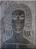 TL4538 : Chrishall: Holy Trinity - Joan de la Pole by John Sutton