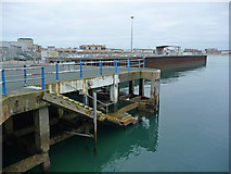 SY6878 : Weymouth - Landing Stage by Chris Talbot