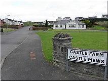 H6357 : Castle Farm and Castle Mews, Ballygawley by Kenneth  Allen