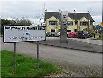 H6257 : Ballygawley Playing Fields by Kenneth  Allen