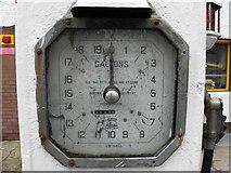 H6357 : Petrol pump detail by Kenneth  Allen