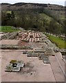 NY7766 : Military bath house, Vindolanda by Andrew Curtis