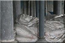 SK9576 : Tomb of Sir John Monson & wife, St John's church, S Carlton by J.Hannan-Briggs