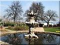 SU7173 : Water Feature - Forbury Gardens by Paul Gillett