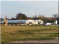 SJ6295 : Greenhouses, Kenyon Hall Farm by David Dixon