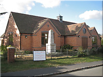 SP4476 : Rebuilt village hall off Townsend Close by Robin Stott