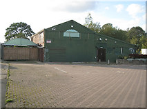 SP4476 : Closed and derelict garden centre by Robin Stott