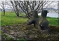 J3576 : Mooring post, Belfast by Rossographer