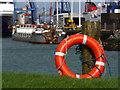 J3576 : Lifebuoy, Belfast by Rossographer