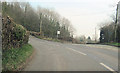 SO5973 : East road junction at Knowlegate by John Firth