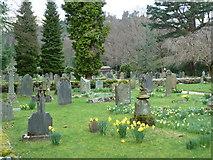 NY3916 : St Patrick's Church, Patterdale, Graveyard by Alexander P Kapp