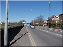 SE2040 : New Road - viewed from Gill Lane by Betty Longbottom