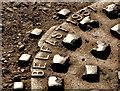 J4981 : Millfield Foundry manhole cover, Bangor (2) by Albert Bridge
