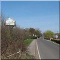 TQ8597 : North Fambridge Village Sign by Roger Jones
