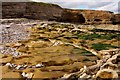NZ4163 : Rocky foreshore in front of Byer's Hole by Steve Daniels