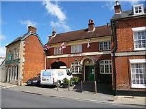 SU3521 : Romsey - William IV Public House by Chris Talbot