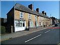 SO0391 : Hair salon and houses, Bridge Street, Caersws by Jaggery
