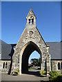 TQ1373 : The chapel in Twickenham Cemetery by Marathon