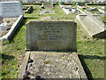 TR1557 : The grave of Herbert and Mary Tourtel, St. Martin's Church, Canterbury by pam fray