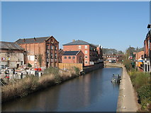 SO8554 : Worcester and Birmingham Canal by Chris Andrews