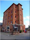SU3521 : Romsey - Horsefair Tower by Chris Talbot