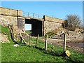 NS8555 : Old railway bridge on Daviesdykes road by wrobison