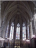 SP5106 : Stained glass, Exeter College Chapel, Turl Street, Oxford by Robin Sones