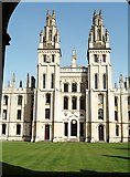 SP5106 : All Souls College, High Street, Oxford by Robin Sones