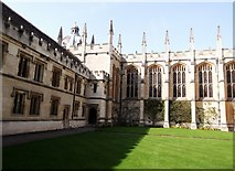 SP5106 : Quadrangle, All Souls College, High Street, Oxford by Robin Sones