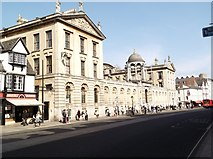 SP5106 : Queen's College, High Street, Oxford by Robin Sones