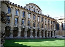 SP5106 : Quadrangle, Queen's College, High Street, Oxford by Robin Sones