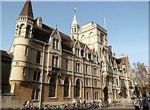 SP5106 : Balliol College, Broad Street, Oxford by Robin Sones