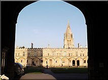 SP5105 : Quadrangle, Christ Church College, St Aldate's, Oxford by Robin Sones