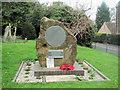 SP9019 : The War Memorial, The Churchyard, Mentmore by Chris Reynolds