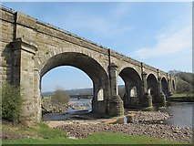 NY7063 : Alston Arches Viaduct by Mike Quinn