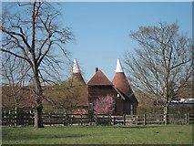 TQ6250 : Oast House, Carpenters Lane, Hadlow by Oast House Archive