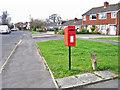 SJ8463 : Post box in Longdown Road, West Heath by Richard Dorrell