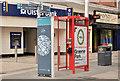 J3374 : Telephone box, Belfast (18) by Albert Bridge