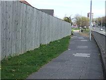 NZ2462 : Path beside Derwentwater Road by JThomas