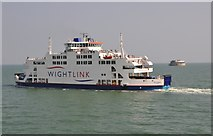 SZ6397 : The Solent : St Clare Wight Link Ferry by Lewis Clarke