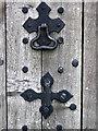ST5308 : Door furniture, St Mary's Church by Maigheach-gheal