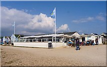 SZ1891 : The Beach House, Mudeford Spit by Mike Smith